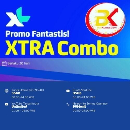 Paket Internet XL Xtra Combo - Xtra Combo 70GB
